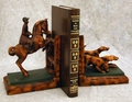 Horse And Hound Bookends