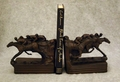 3 Race Horse Bookends