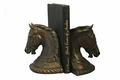 Arab Horse Head Bookends