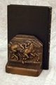 2 Horse Racehorse Bookends