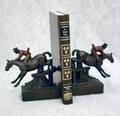 Fox Hunt Bookends