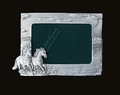 2 Horses Running Picture Frame