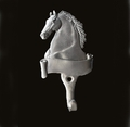 Horse With Banner Wall Hook