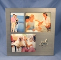 Brushed Silver Finish Picture Frame (3)