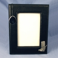 Black Leatherette Picture Frame