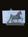 Gaited Horse Card Holder