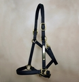 Beta Faux Leather Padded Halter