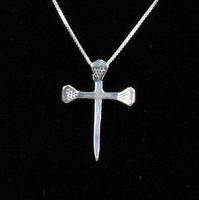 Horseshoe Nail Cross 1.25""
