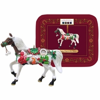 """Holiday S'mores & More"" Painted Ponies Ornament - Retired"