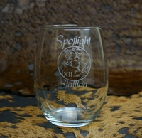 Perfection Stemless Trophy Wine Glass - Log in for quantity pricing of 2 or more trophies.