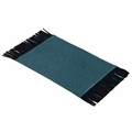 Reversible Placemats (turquoise/brown)