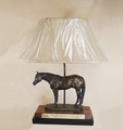 ApHC World Champion Trophy Lamp Base & Shade