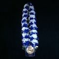 Luxury Single Strand Champion Rose Garland With Information Plate