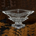 Deco Crystal Square Trophy Bowl - Log in for quantity pricing of 2 or more trophies.
