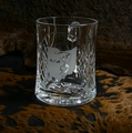 Masquerade Crystal Trophy Mug - Log in for quantity pricing of 2 or more trophies.