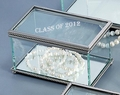 Square Glass Hinged Box Trophy - Log in for quantity pricing of 2 or more trophies.