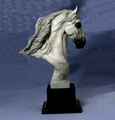 Andalusian Trophy Bust - Log in for quantity pricing of 2 or more trophies.