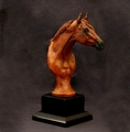 Pedestal Stock Horse Trophy - Log in for quantity pricing of 2 or more trophies.
