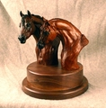 Quarter Horse Stallion & Mare Trophy - Log in for quantity pricing of 2 or more trophies.