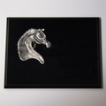 Pewter Arabian Costume Premium Plaque -  Log in for quantity pricing of 2 or more trophies.
