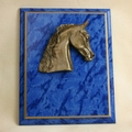 Small Arabian NSH Standard Gold Cove Plaque - Log in for quantity pricing of 2 or more trophies.