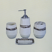 Barbwire Bathroom Set