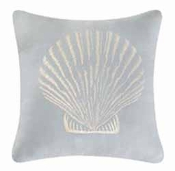 Shore House Clam Shell Pillow