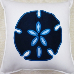 Capri Newport Sand Dollar Pillow