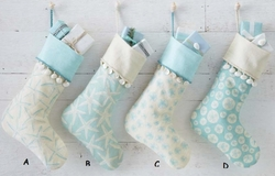 Coastal Christmas Stockings