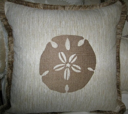 Malibu Coastal Pillow Sanddollar
