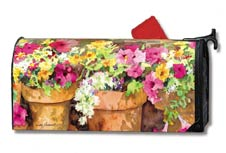 Colorful Cottage Mailbox Cover