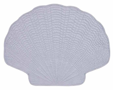 Light Blue Clamshell Placemats