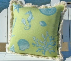 Seabreeze Coastal Pillow Large