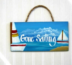 Gone sailing picture