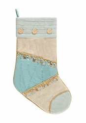 Quilted Sealife Stocking