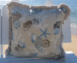 Large Beachcomber Pillow