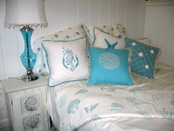 Aqua Coastal Bedding