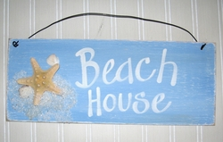 Beach House sign  starfish