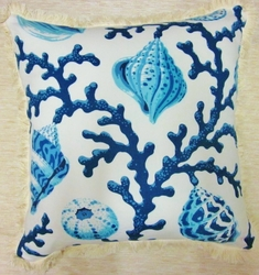 Capri Coral Pillow