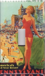 Atlantic City Light Switch Covers