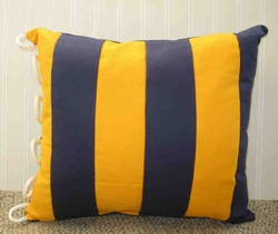 Nautical Code Flag Pillow Golf
