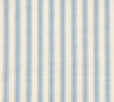 Blue Stripe Valance Shore House