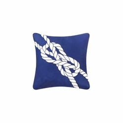 Anchor Island Knot Pillow