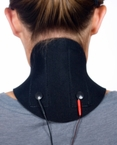 Conductive Neck Garment with Snap Adapter to Connect Unit