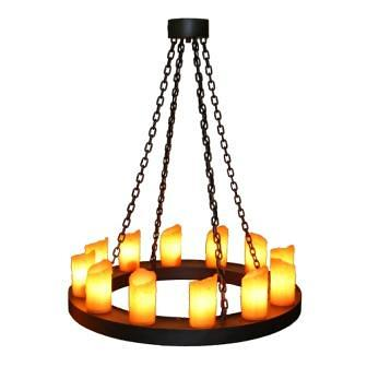Candle Chandelier - One Tier