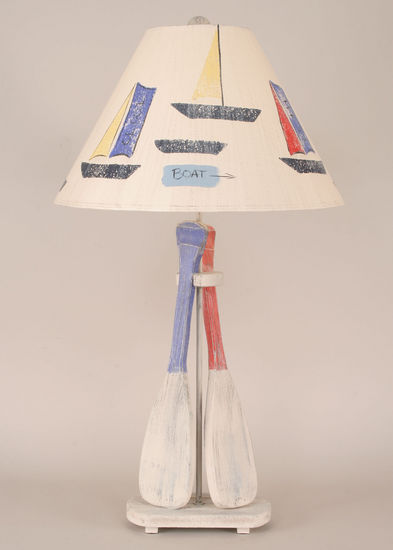 2-Paddle Table Lamp