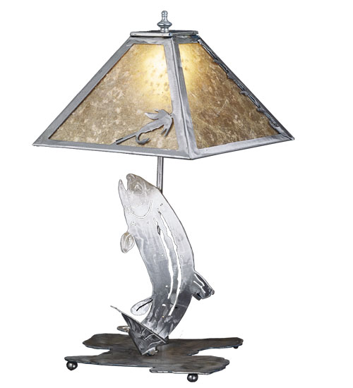 """Mica Trout 21"""" Table Lamp"""