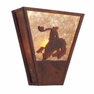 Eight Seconds Vegas Sconce