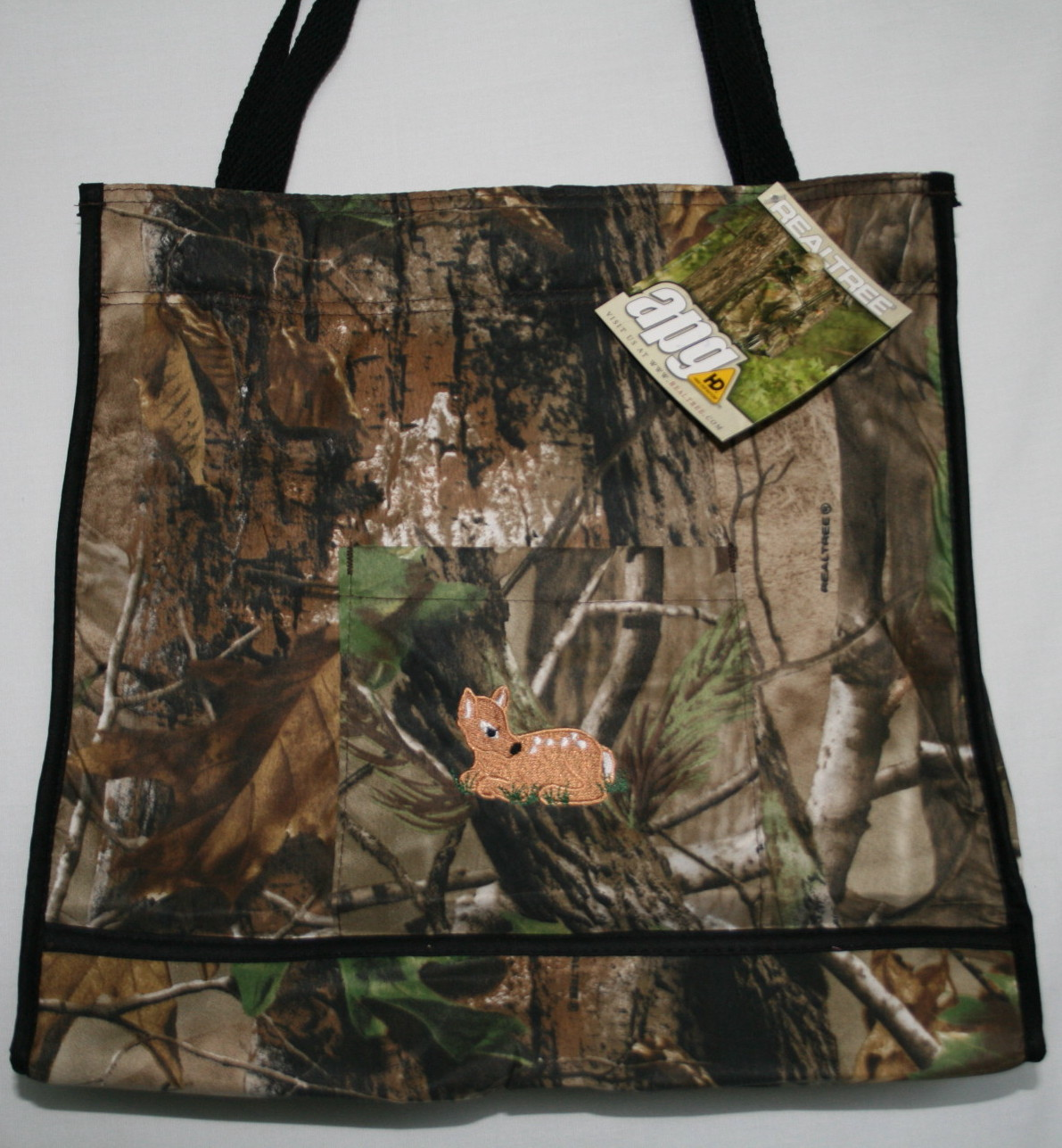 Realtree Camouflage Diaper Bag Embroidered