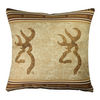 Browning Buckmark Double Logo Pillow